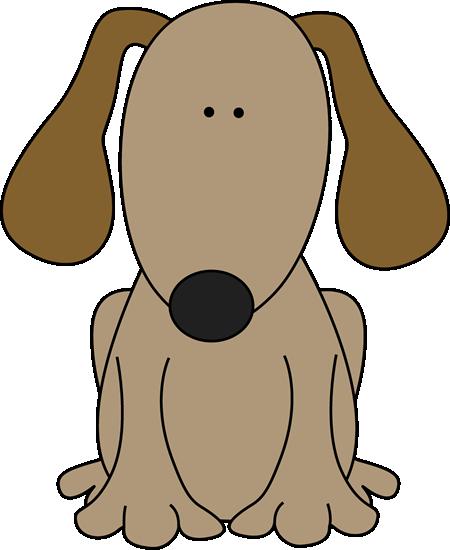 Animl clipart brown dog #3