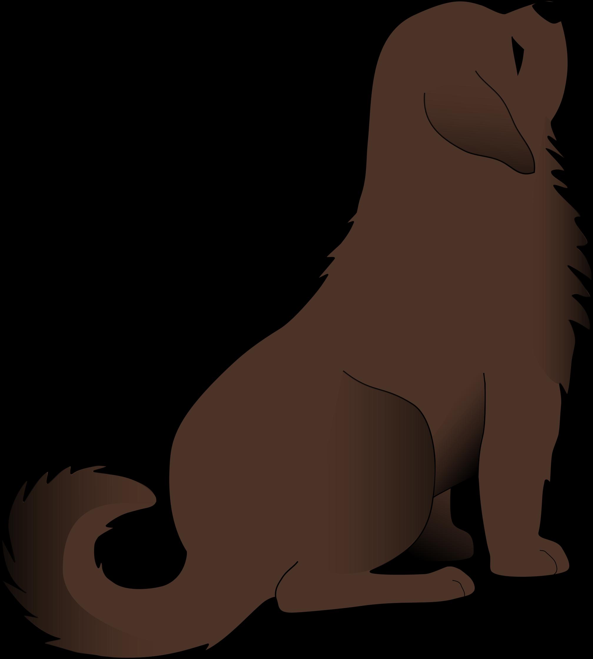 Larger clipart big dog Clipart dog Brown Brown dog