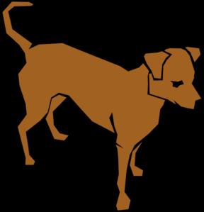 Animl clipart brown dog #11