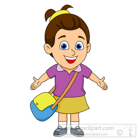 Ponytail clipart child smile Clipart clip collection clipart kid
