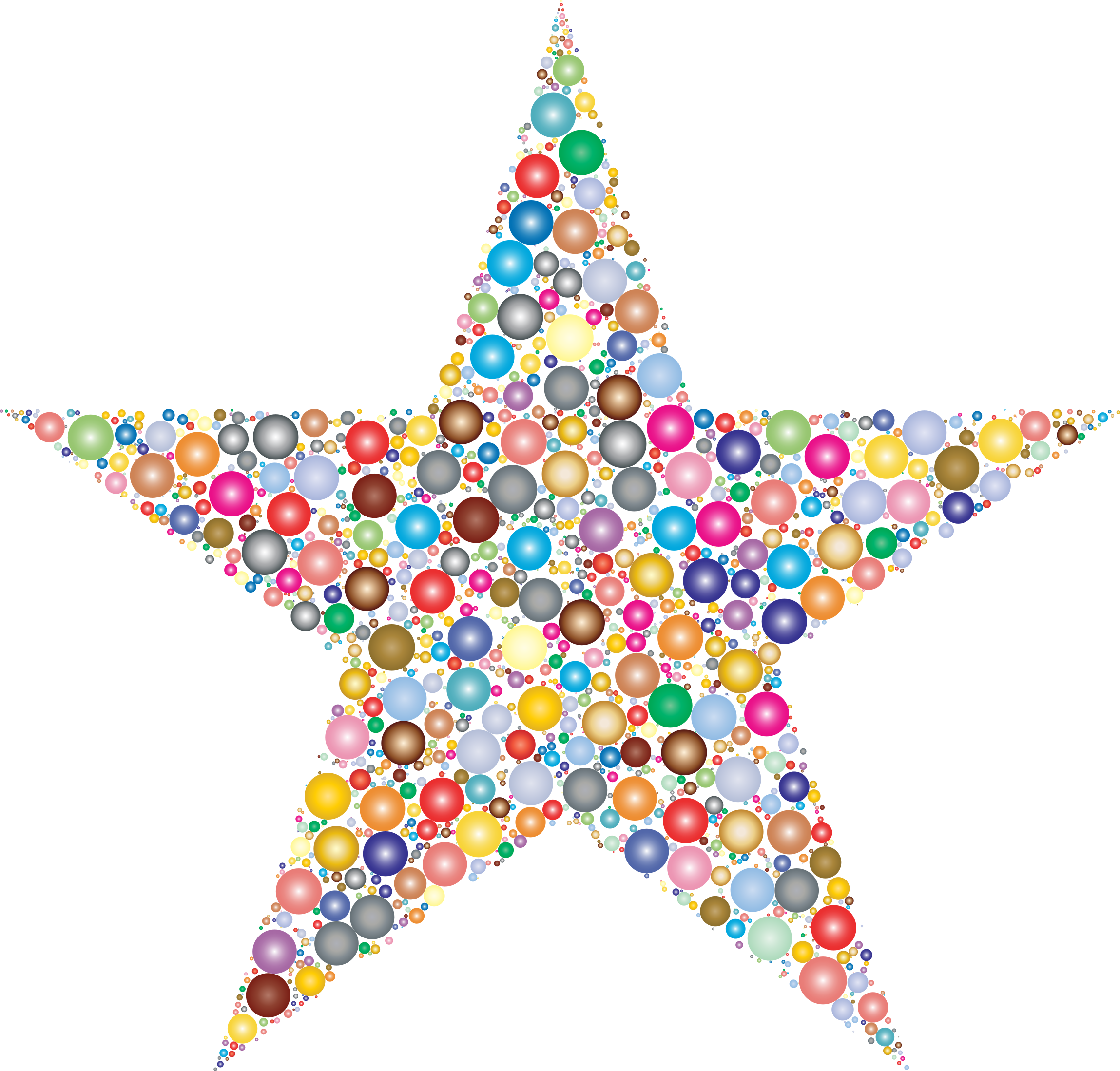 Dots clipart star Colorful clipart 2 Clipart Circles