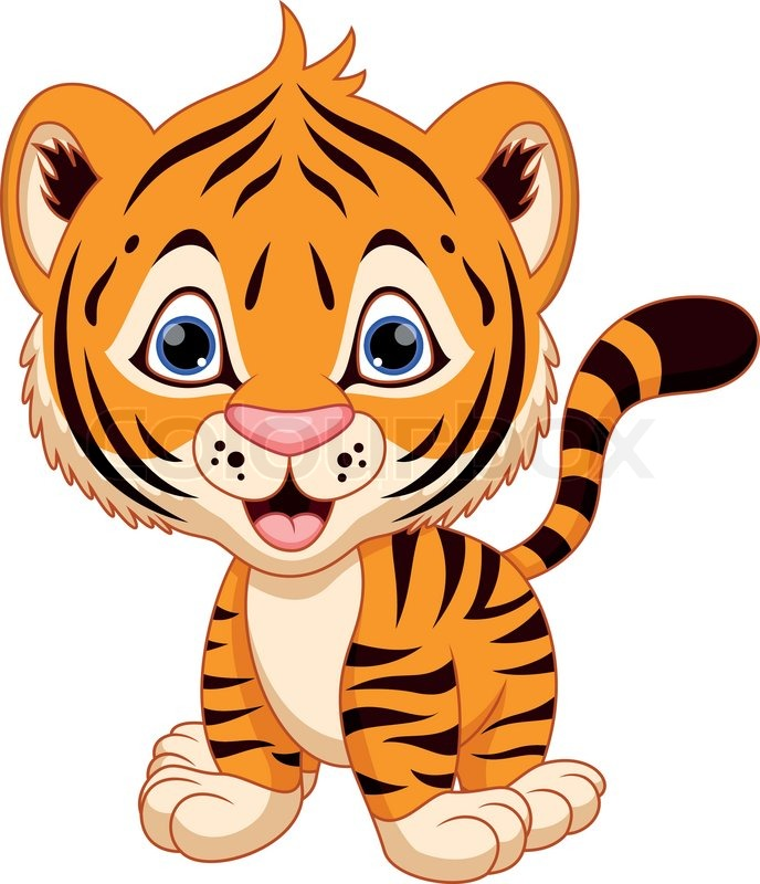 Animl clipart tiger To clipart Tiger 3 PDClipart