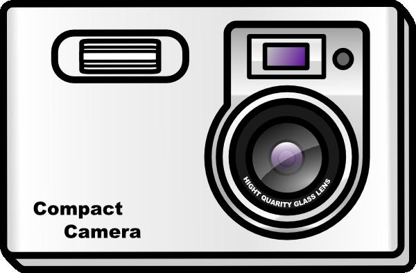 Camera clipart digital camera Slim Clip public com Clker