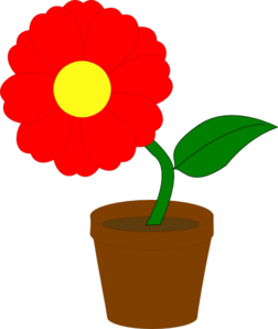 Petal clipart potted flower Plant Plant Download Potted Potted
