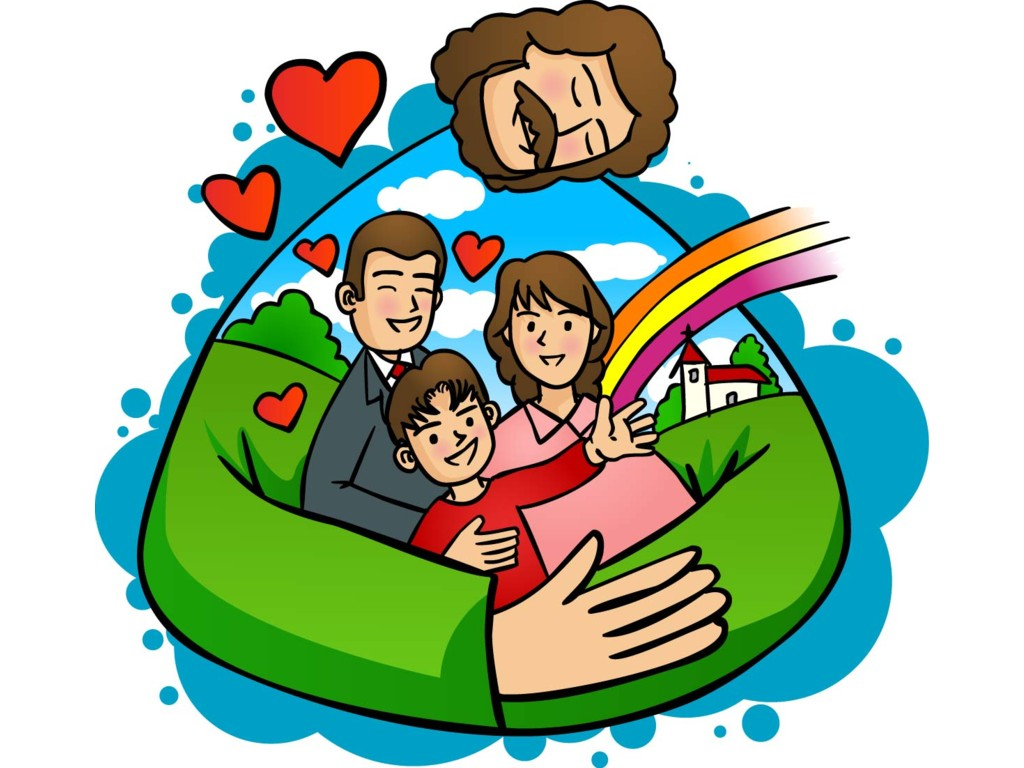 Family clipart God collection Family