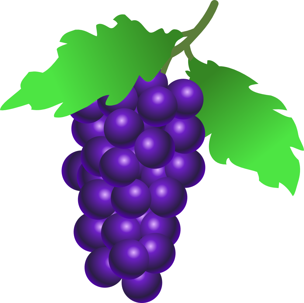 Grape clipart one Clip  images stock free