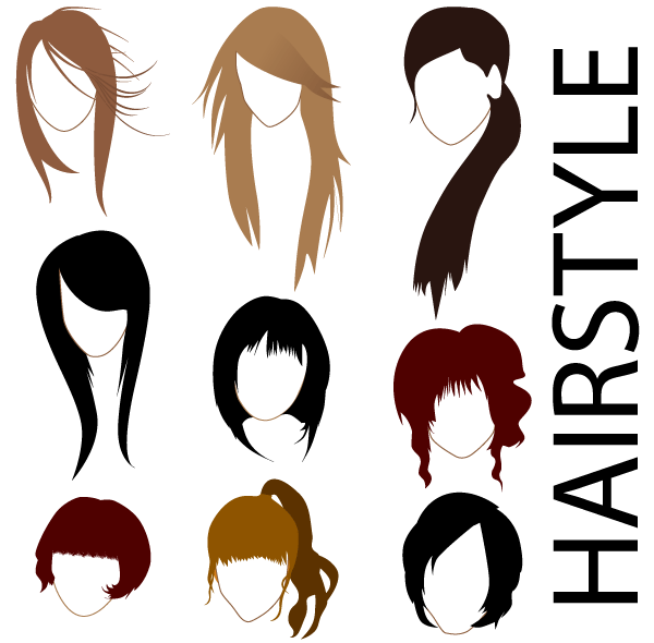 Photos clipart hairstyle #7