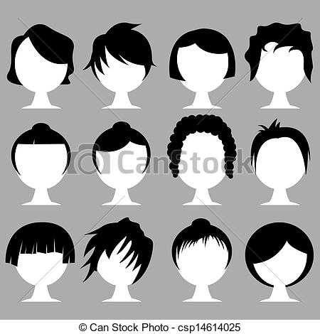 Photos clipart hairstyle #12