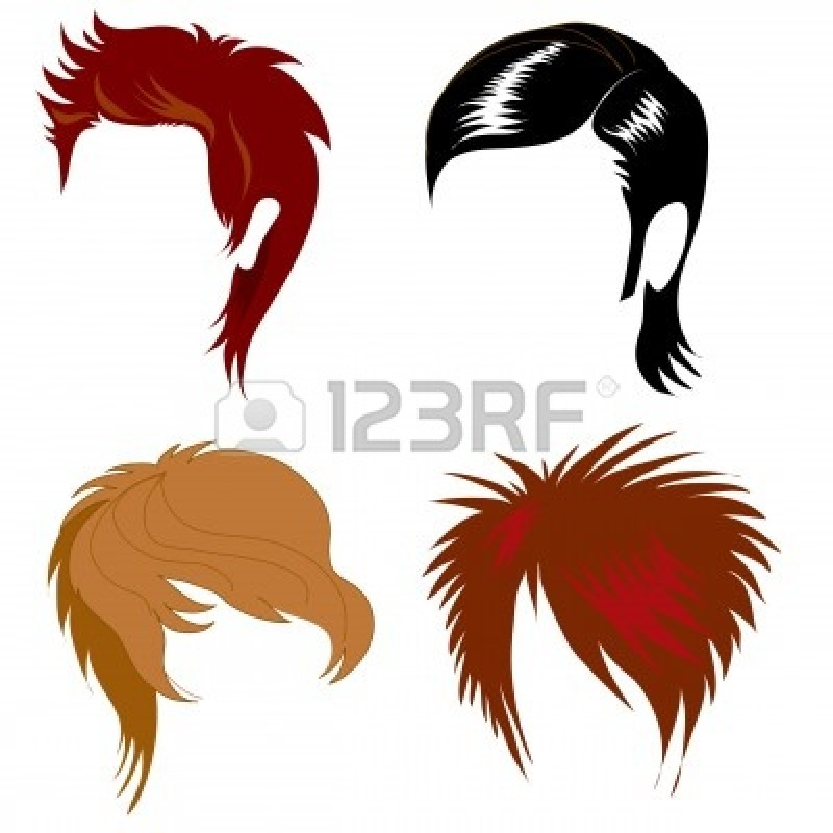 Photos clipart hairstyle #9