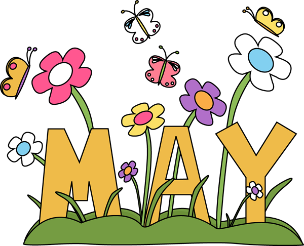 Season clipart may flower #1