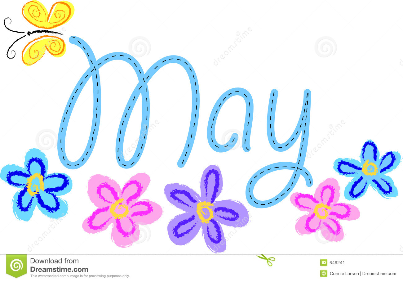 Season clipart may flower #7