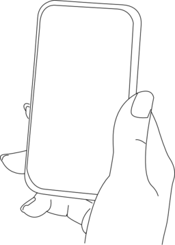 Phone clipart camera phone With Clipart With Hand Free
