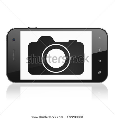 Phone clipart camera phone Cell Phone icon camera (23+)