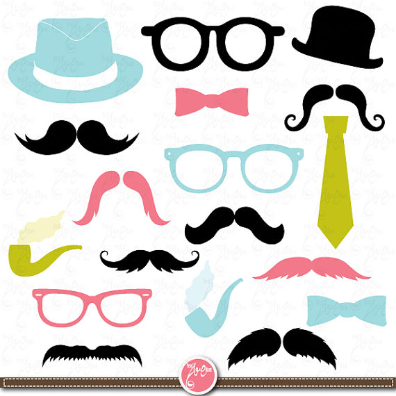 Tie clipart photo booth prop Etsy Printables Printables Commercial Use