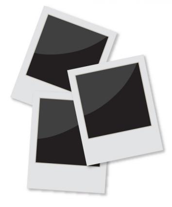 Photography clipart snapshot Art Frame Polaroid Clip
