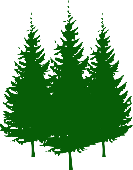 Tree clipart forest tree #7