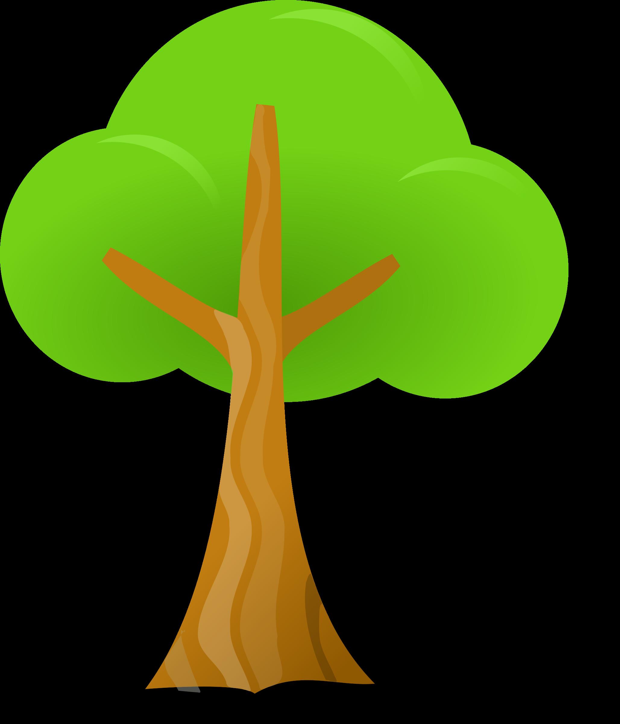 Tree Simple tree Simple Clipart