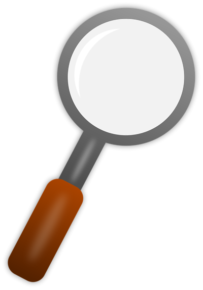 Phone clipart transparent background  Background Transparent Magnifying Clipart