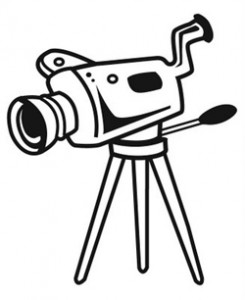 Photos clipart video camera #9