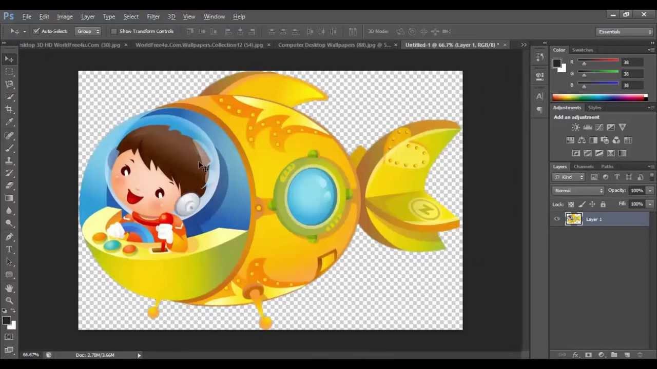 Photoshop clipart Easy How create } easy