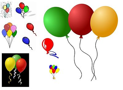 Photoshop clipart balloons Stock Images Free stock Clipart