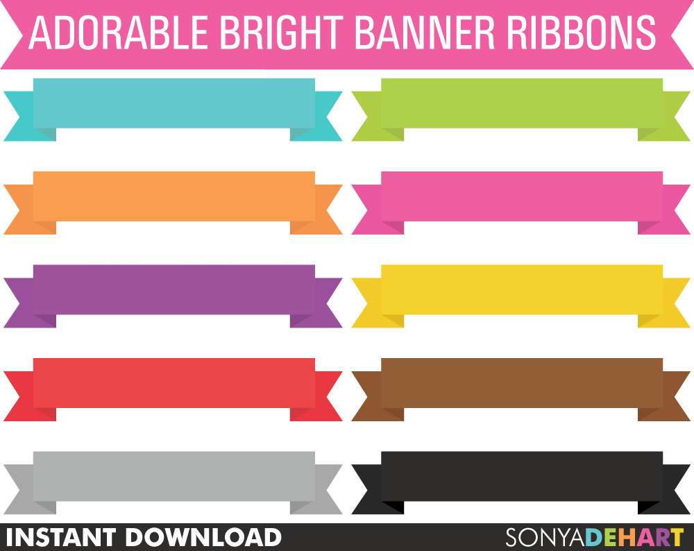 Photoshop clipart banner This SALE Ribbons Like OFF