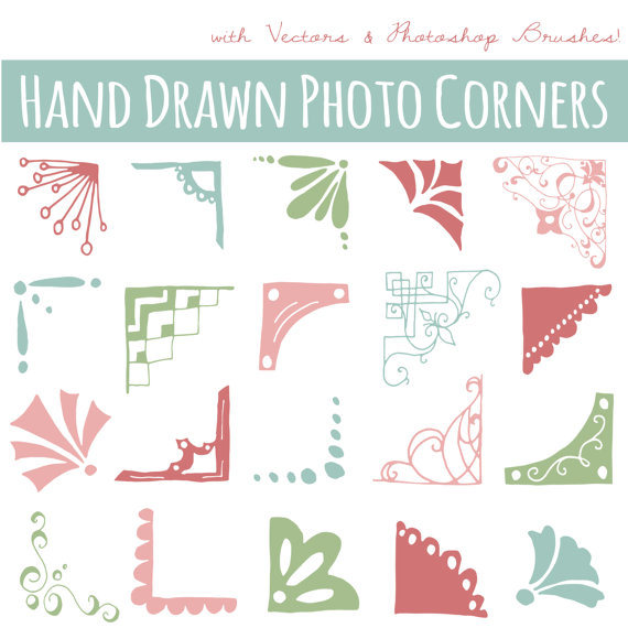 Photoshop clipart corner Commercial Overlay Hand Hand ART: