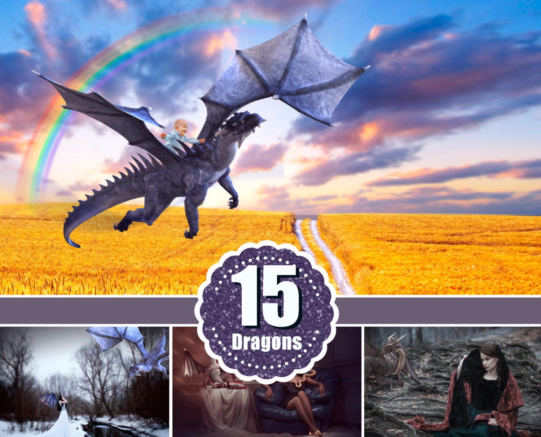 Photoshop clipart dragon Photoshop animal edit overlay digital
