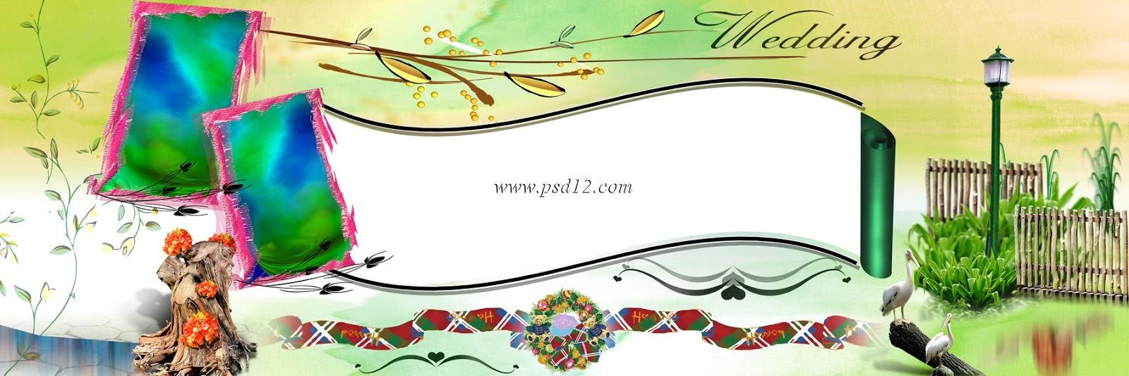 Photoshop clipart karizma album Photoshop Album 11 (12x36 Wedding