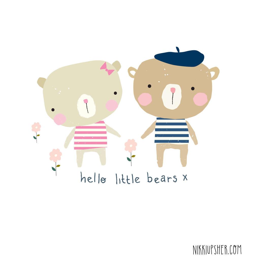 Photoshop clipart little bear Upsher Design Nikki little bears