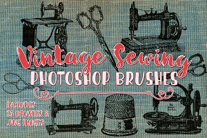 Photoshop clipart sewing Themes Photoshop clipart Templates Brushes