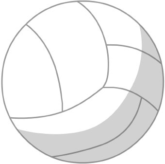 Gallery clipart sphere  clip Volleyball art