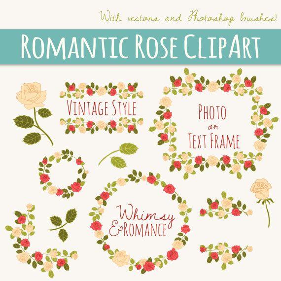 Photoshop clipart wedding heart Clip Floral // // art