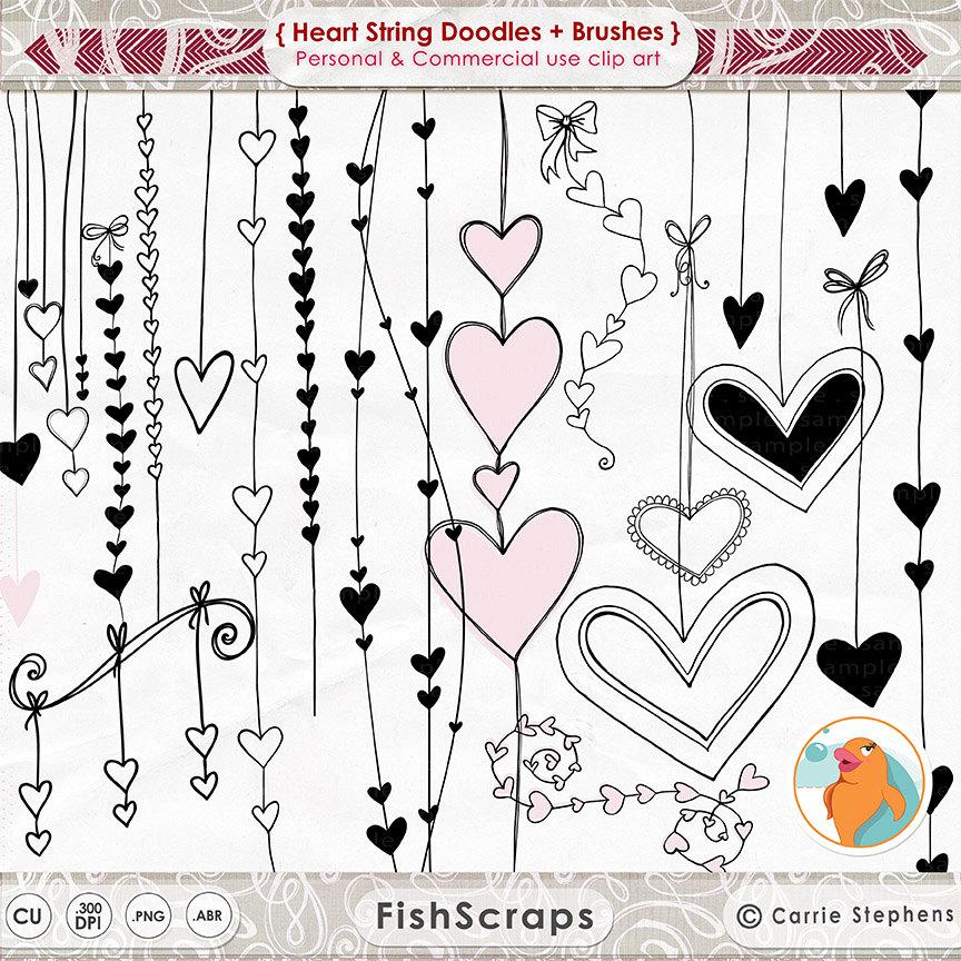 Photoshop clipart wedding heart Border Embellishment Valentine Border