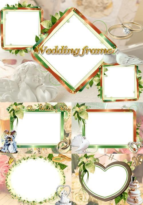 Photoshop clipart wedding photo frame Wedding best images wedding on