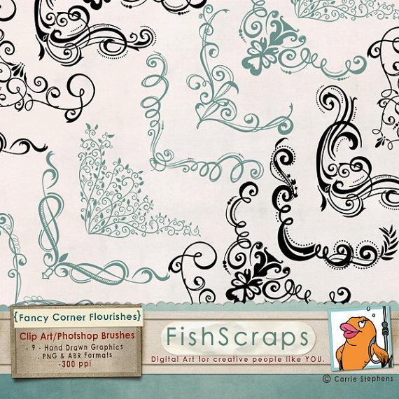 Photoshop clipart wedding photo frame Images Elegant Corner Ornate