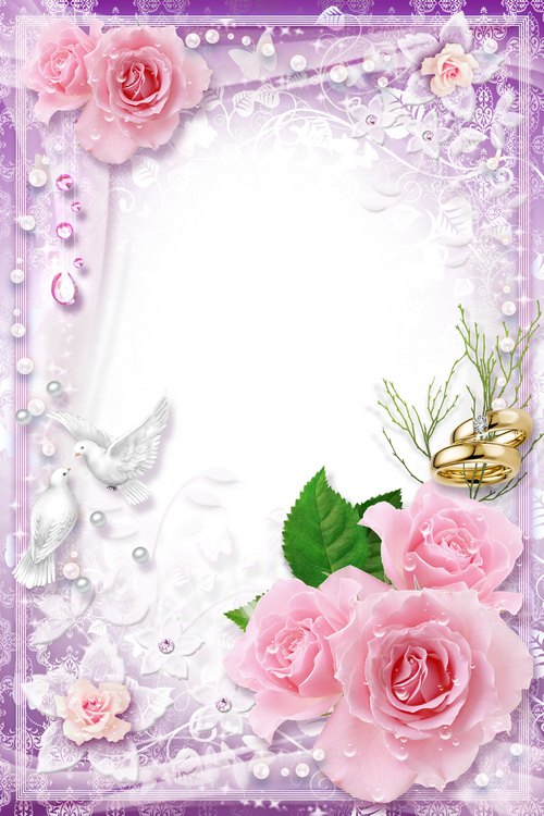 Photoshop clipart wedding photo frame Family Family of psd Happiness