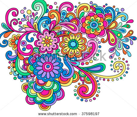 Physcedelic clipart love flower Clipart Psychedelic Clipart Free