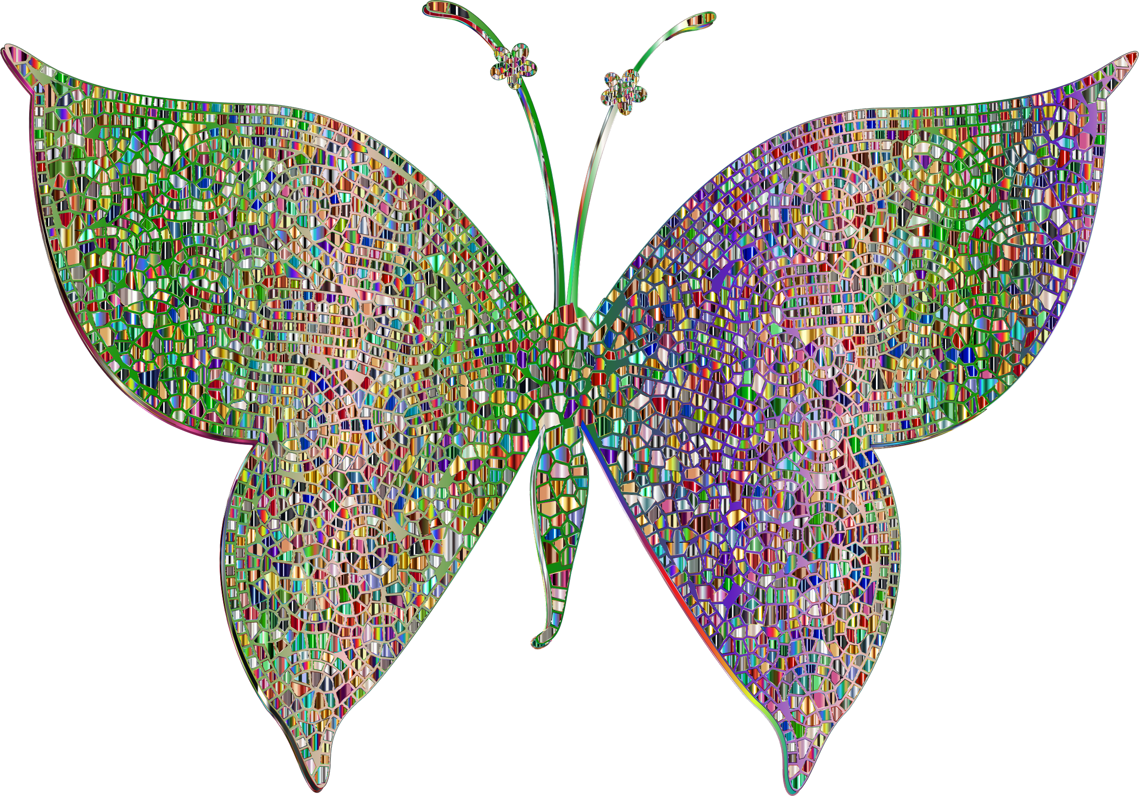 Moth clipart psychedelic #3