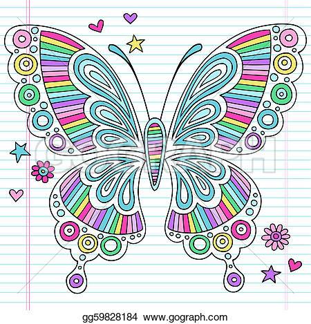 Moth clipart psychedelic #4