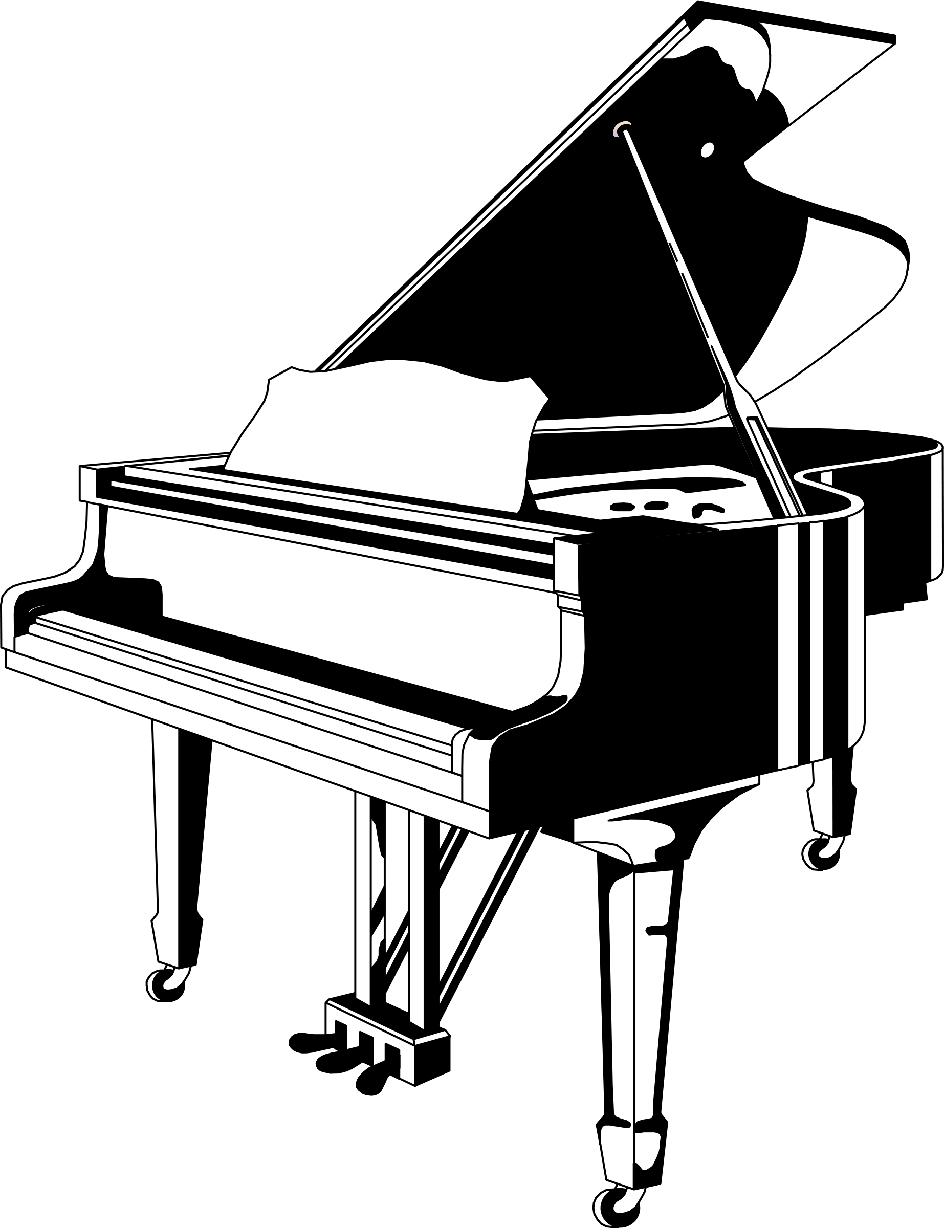 Organs clipart upright piano Clipart Panda Free Clipart Free