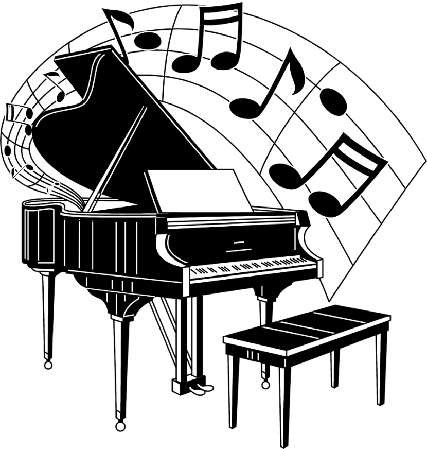 Piano clipart Free Free Piano Art Images