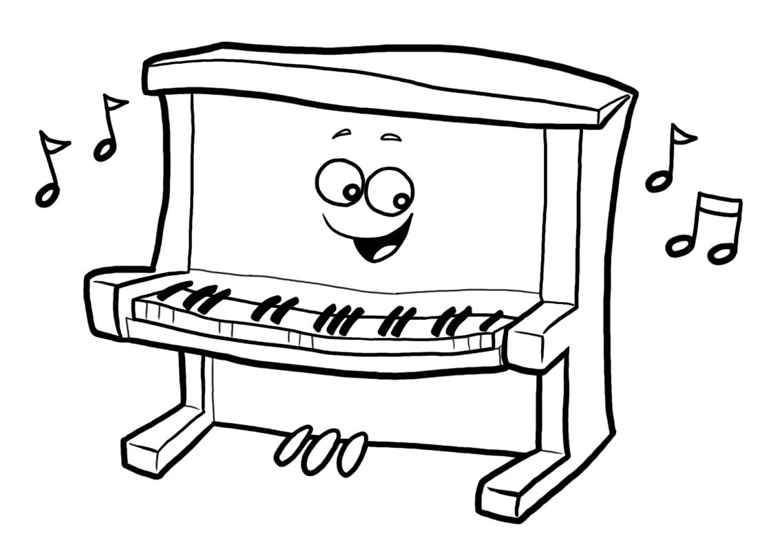 Piano clipart cartoon Piano%20clipart Panda Free Cartoon Piano
