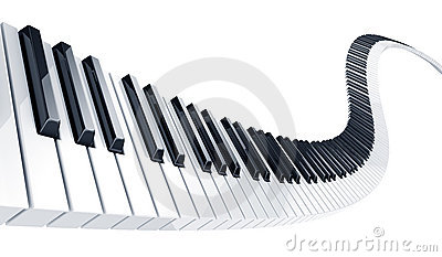 Piano clipart curved Free Piano Curved  Clipart