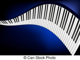 Piano clipart curved Piano Curving Vector Curved piano