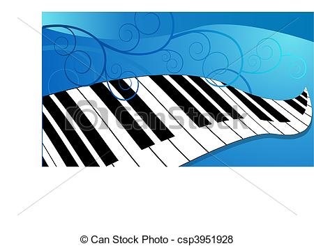 Piano clipart curved Curved Curving Vector of piano