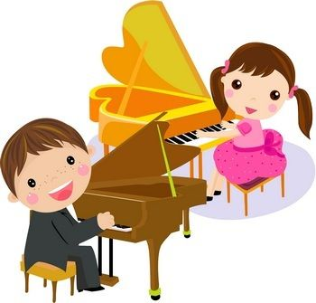 Piano clipart duet On Piano Piano Pinterest clipart
