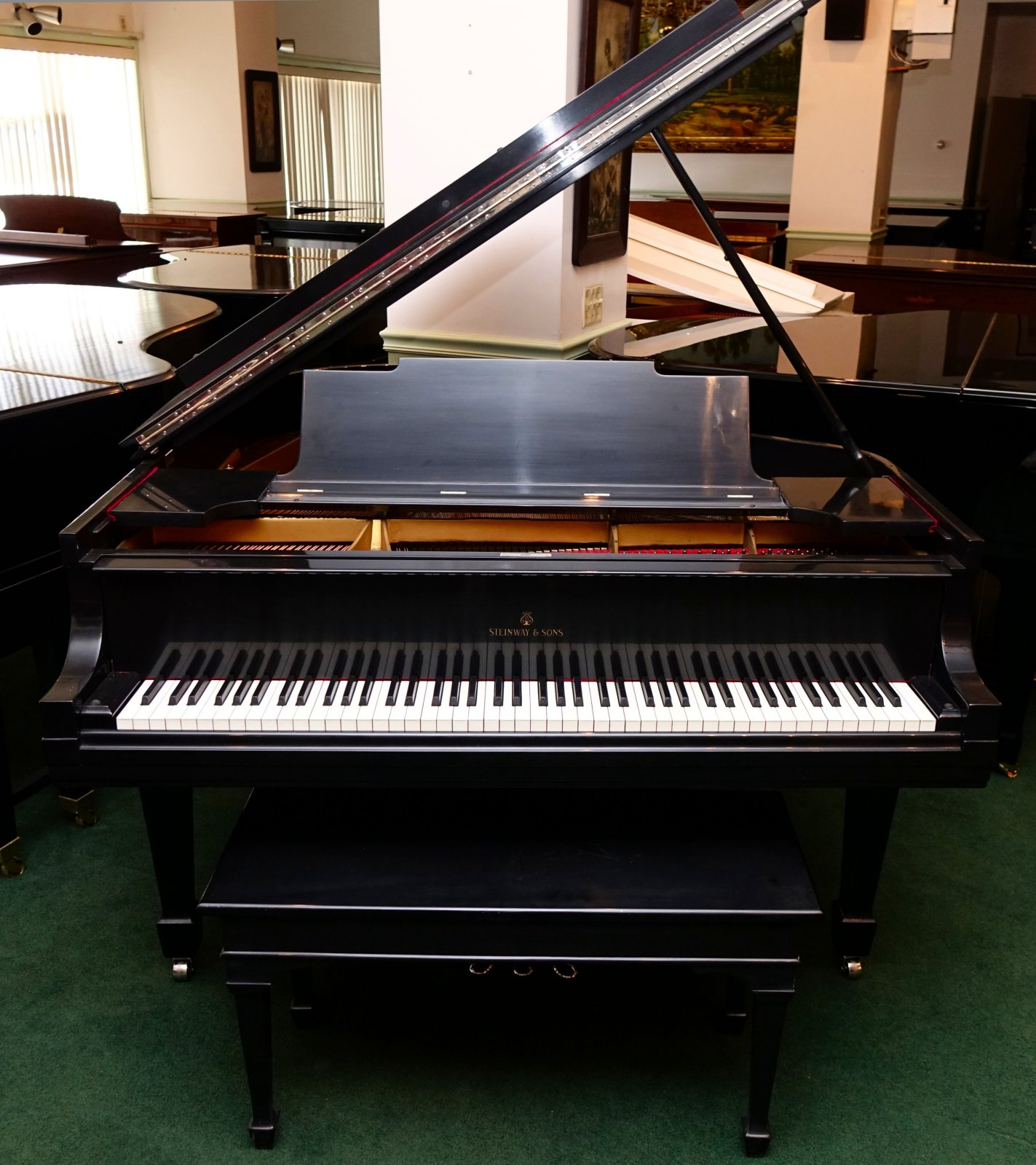 Piano clipart front Piano finish Ebony and pianos