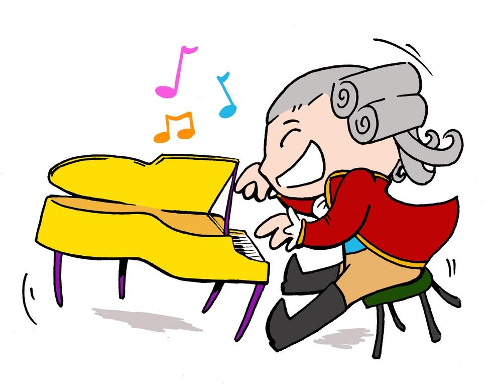 Piano clipart man on Free PIANO CARTOON Art