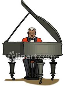 Piano clipart man on Piano In Clipart a Royalty